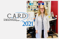"""NARILIS PhD student Louise Gerard awarded """"Best oral communication"""" prize at Annual Dermatological Research Congress 2021!"""