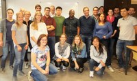 """Twenty NARILIS scientists and clinicians attended the """"Publication workshop"""" led by John Carpenter"""