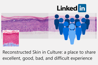 Reconstructed Skin in Culture: join our new LinkedIn discussion group!
